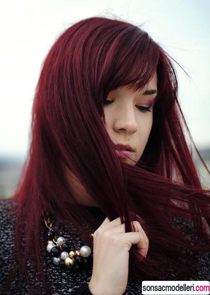 Vişne Kızılı Saç