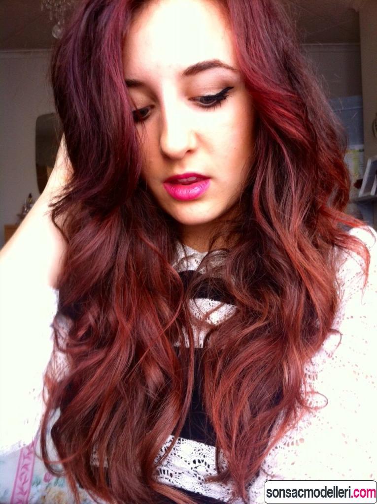 Vişne Kızılı Saçlar
