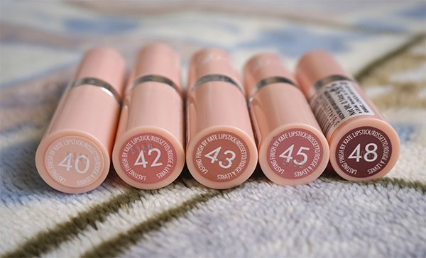 Rimmel London Kate Moss Nude Ruj Serisi