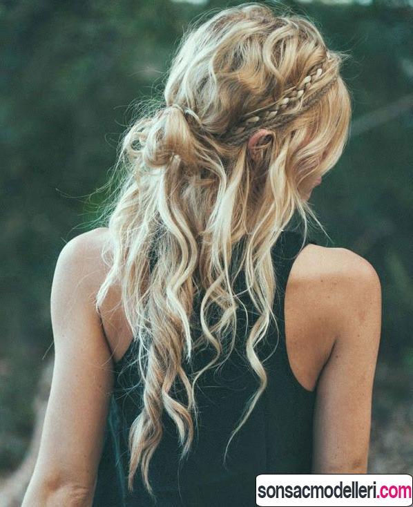 festival için hangi saç modeli