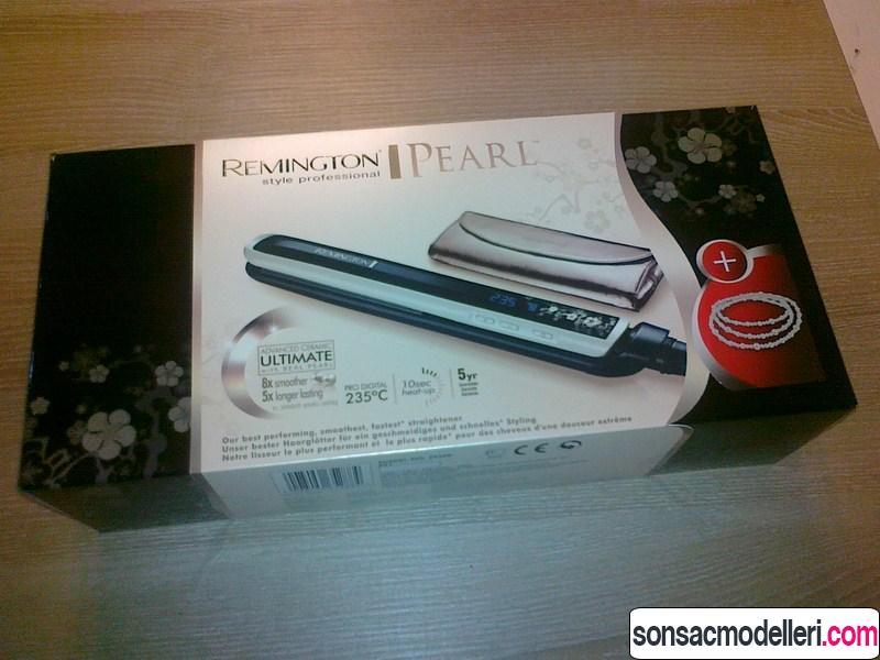 Remington Pearl s9500 saç düzleştiricisi