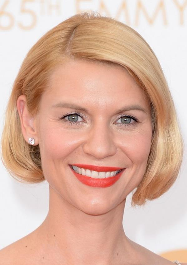 Claire Danes kısa saç modeli