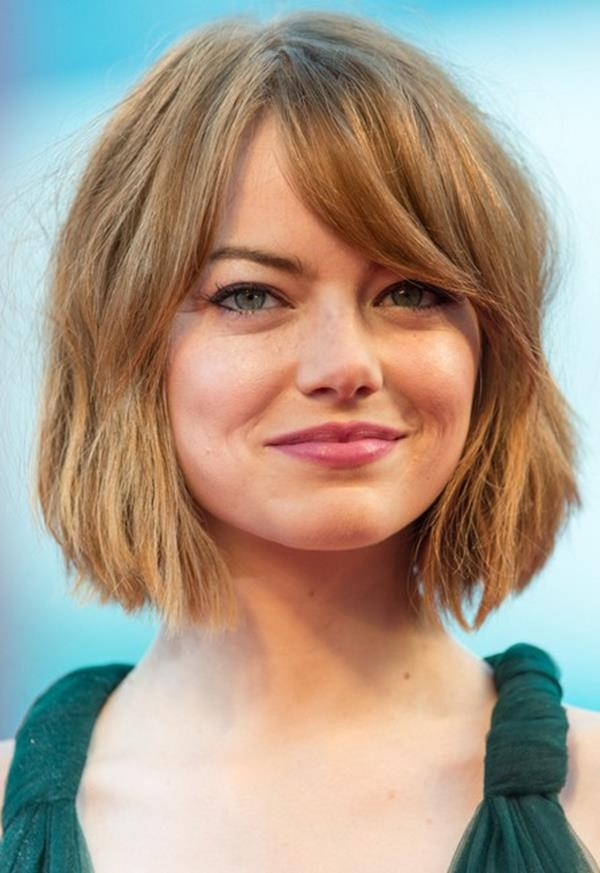 Emma Stone kısa saç modeli