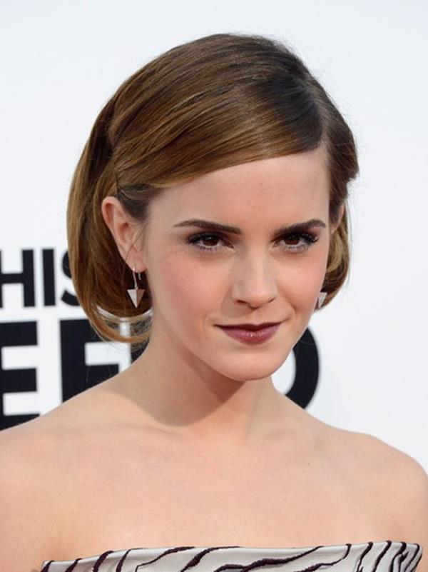 Emma Watson kısa saç modeli