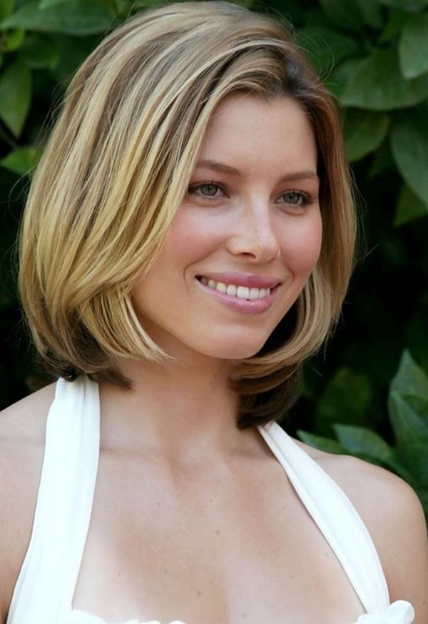 Jessica Biel kısa saç modeli