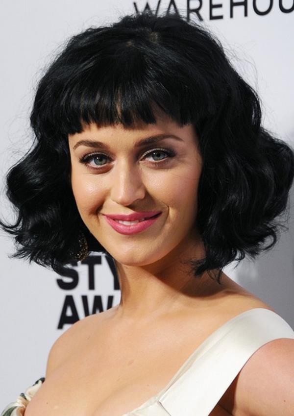 Katy Perry kısa saç kesimi