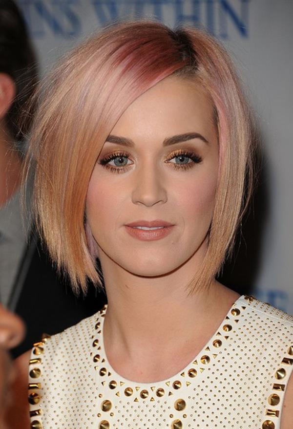 Katy Perry kısa saç modeli