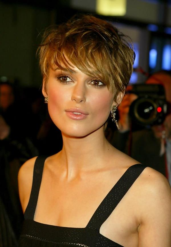 Keira Knightley kısa saç modeli