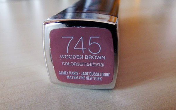 Maybelline Color Sensational Wooden Brown Ruj Serisi
