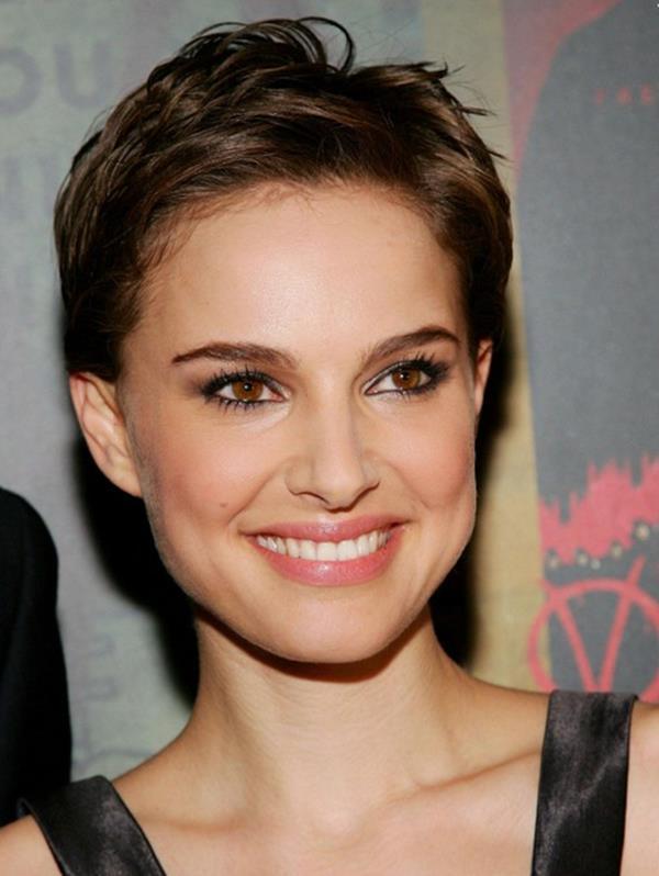 Natalie Portman pixie saç modeli
