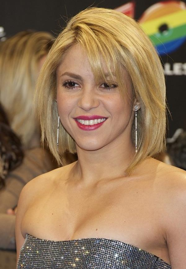 Shakira saç modeli