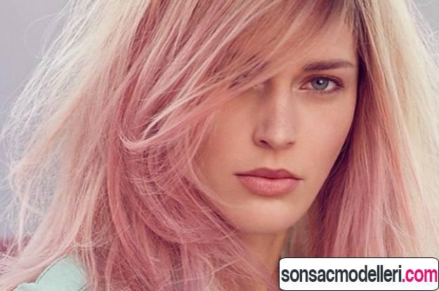gold rose saç rengi modeli