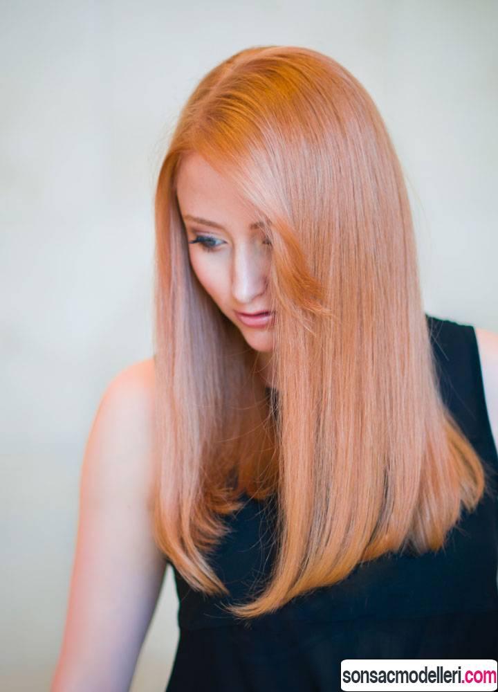gold rose saç rengi