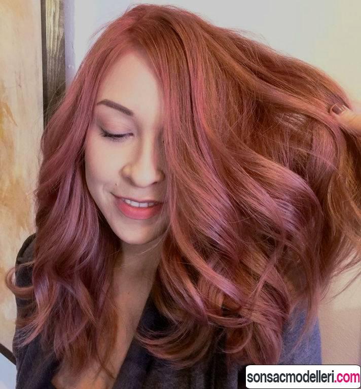 gold rose saç boyası
