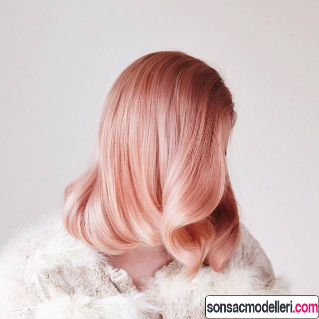 gold rose saç renkleri