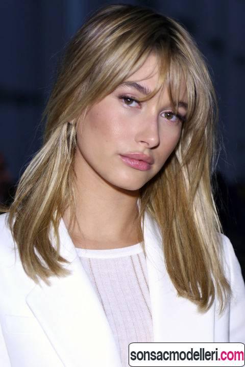 orta uzunlukta saç