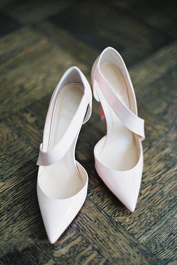 uzun burun gelin ayakkabısı