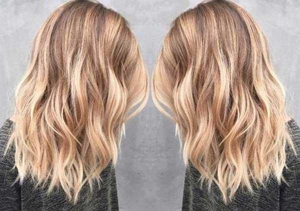 Saçlarına ışıltı isteyenlerin çok seveceği bir örnek