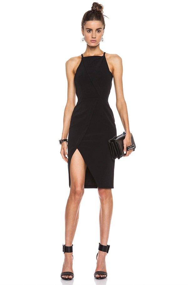 halter yakalı elbise