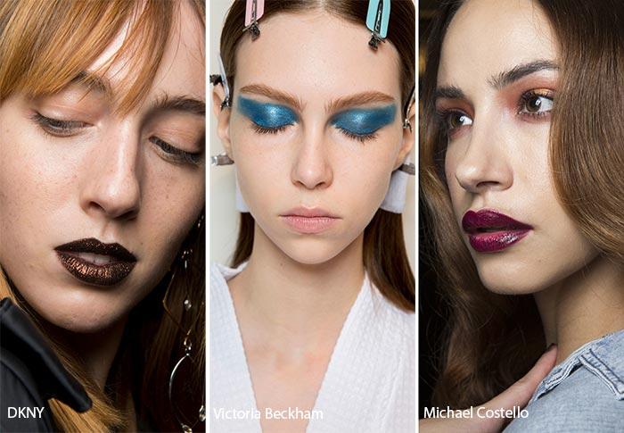 2017 New York Moda Haftası Makyaj Trendleri