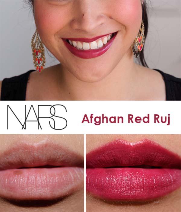 Nars Afghan Red
