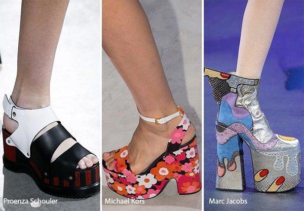 New York Moda Haftası Platform Ayakkabı Tasarımları