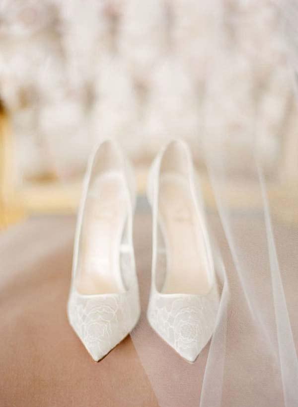 klasik gelin ayakkabısı