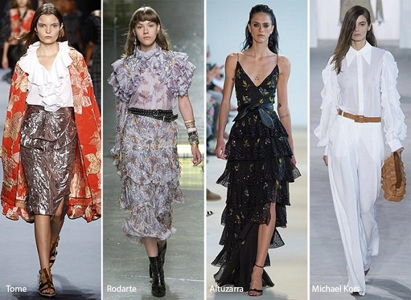 new york moda haftasındaki katlı kıyafetler