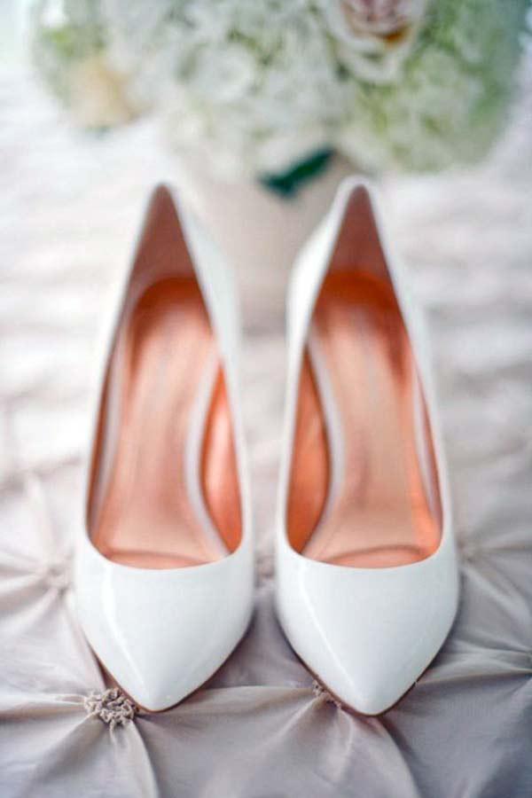 rugan gelin ayakkabısı