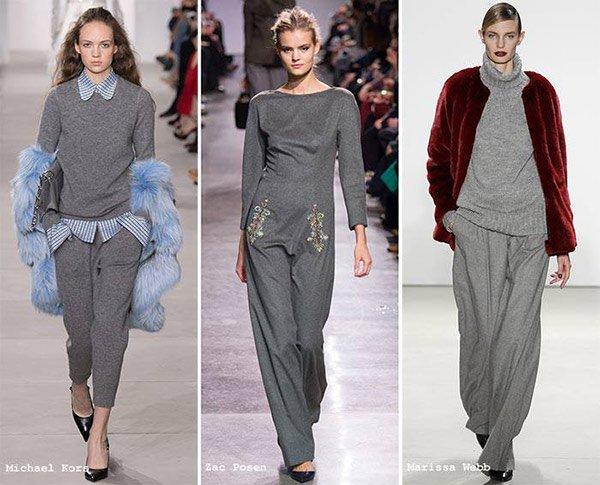 2017 moda gri rengi