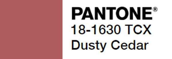 Dusty Cedar pantone code