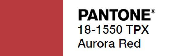 aurora red pantone code