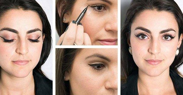 eyeliner sabitlemek