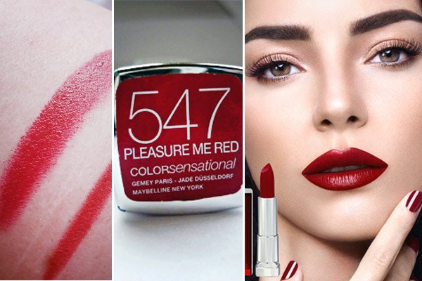Maybelline Pleasure Me Red 547