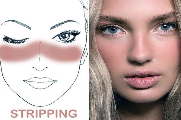 Sun Stripping Makyajı
