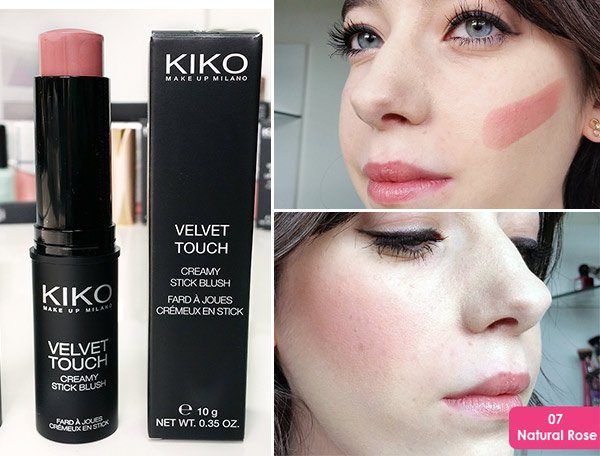 kiko 07 Natural Rose stick allık