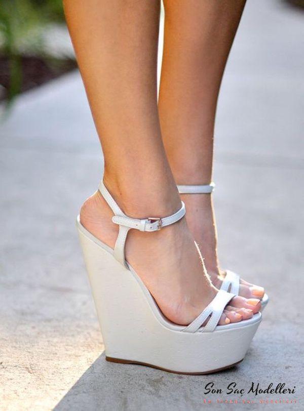 dolgu topuklu ayakkabılar 101