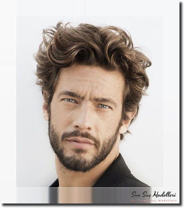 Dalgalı Erkek Saç Modelleri 108