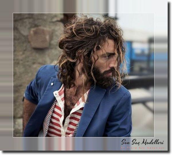 Dalgalı Erkek Saç Modelleri 113