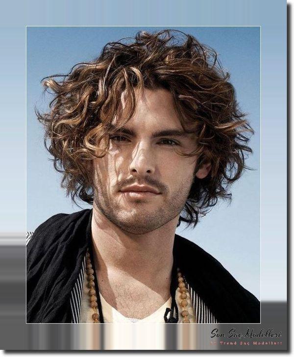 Dalgalı Erkek Saç Modelleri 114
