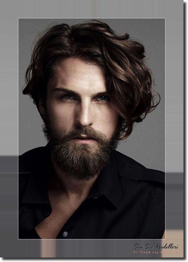 Dalgalı Erkek Saç Modelleri 125