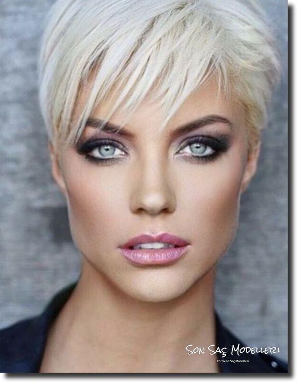 En Popüler Kısa Saç Modelleri 2018 15