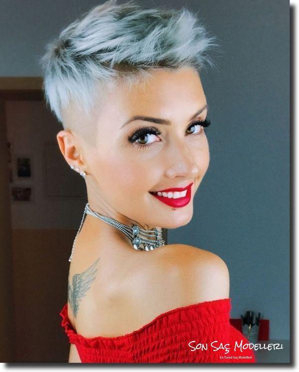Pixie Saç Modelleri 2018 3