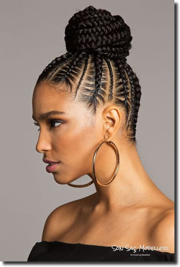 kısa saçlar için topuz modelleri 2018 17