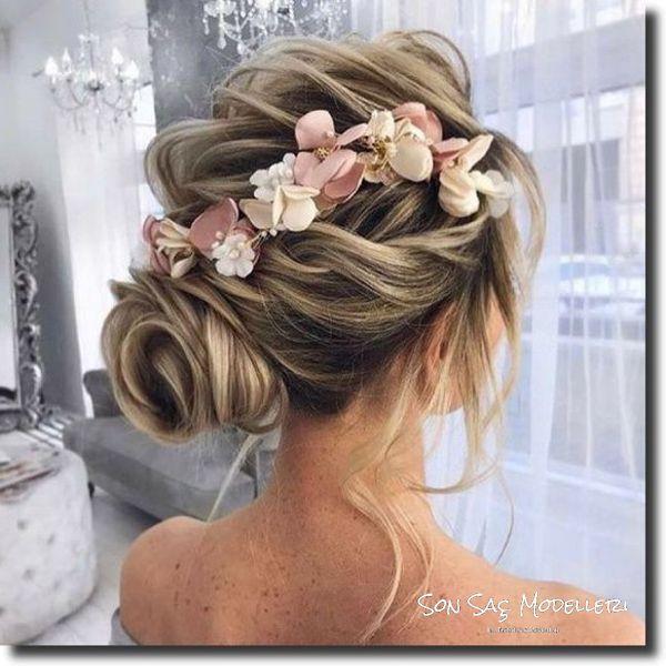 En Popüler Gelin Saç Modelleri (12)