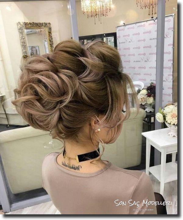 En Popüler Gelin Saç Modelleri (6)