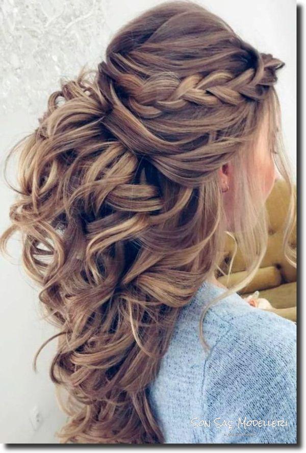 En Popüler Gelin Saç Modelleri (7)