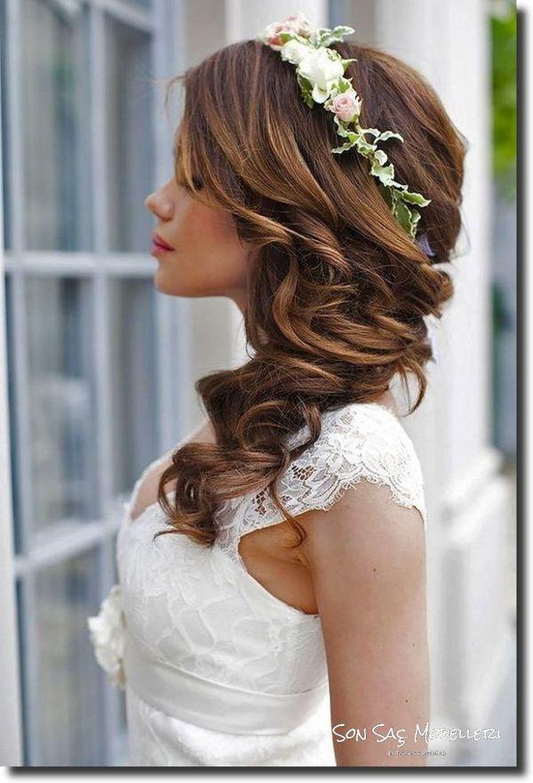 En Popüler Gelin Saç Modelleri (8)