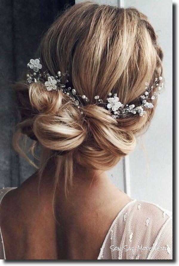 En Popüler Gelin Saç Modelleri (9)
