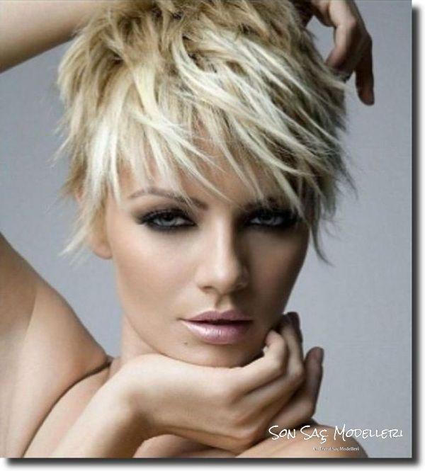 Kırpık Saç Modelleri (10)